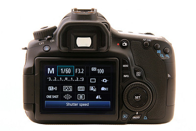 Canon 60D Back